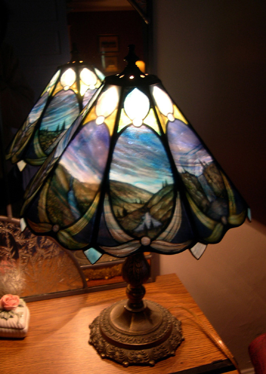Stained Glass Windows And Lamps Coastal Glass Creations